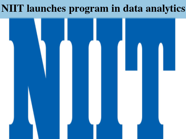 NIIT launches program in data analytics