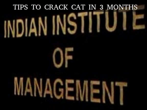 Tips to crack CAT in 3 months
