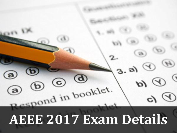 AEEE 2017: Registrations Begin From Dec 1