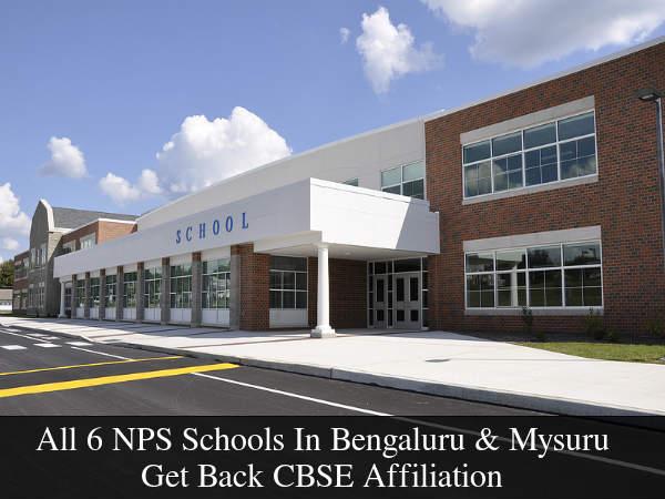 All 6 NPS Schools Get Back CBSE Affiliation