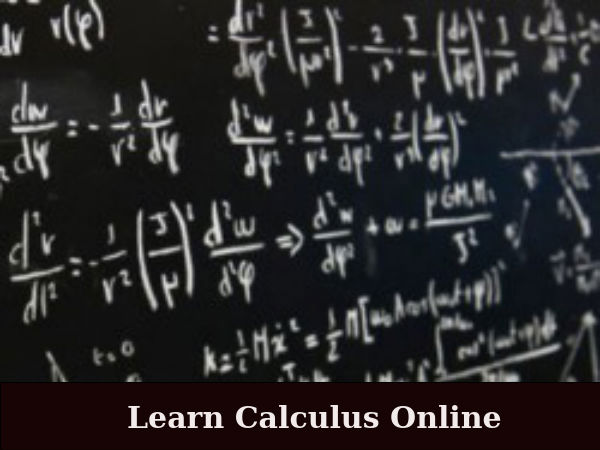 Learn Calculus online by Ohio State University