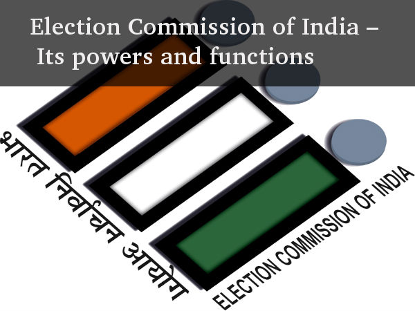 write an essay on election commission of india