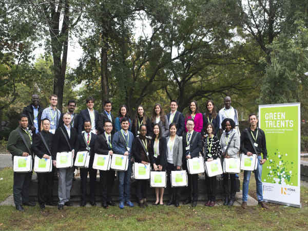 Indian PhD Student Among Top Winners of Green Talents Award 2016 in Germany