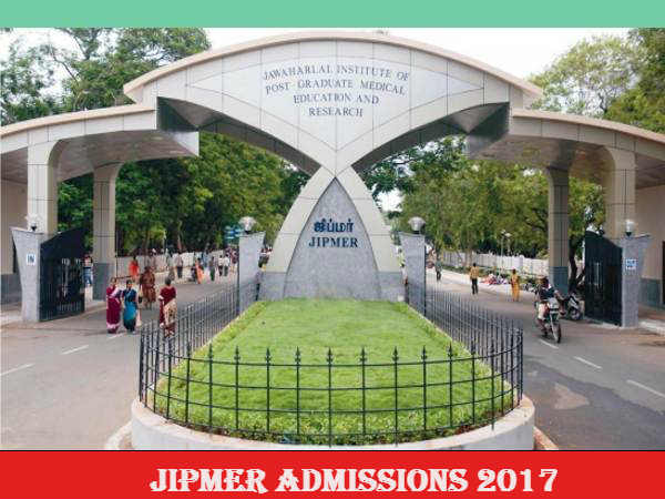 JIPMER invites applications for 2017 session