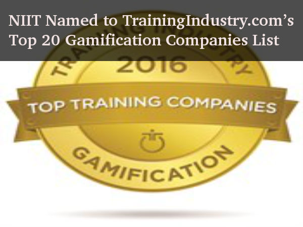 NIIT in Top 20 Gamification Companies List