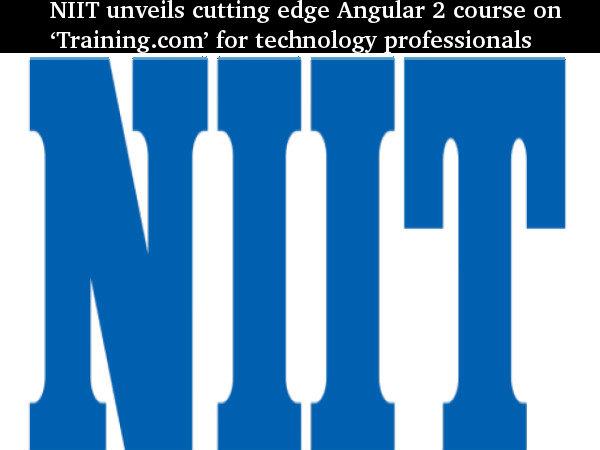 NIIT unveils 'Training.com' for tech professionals