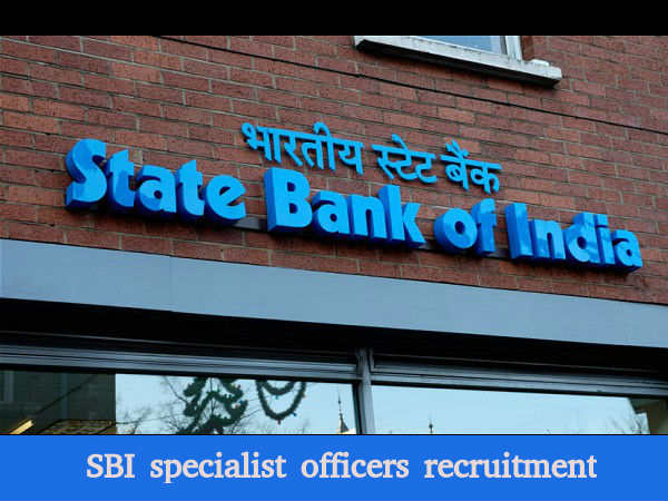 SBI recruiting specialist officers