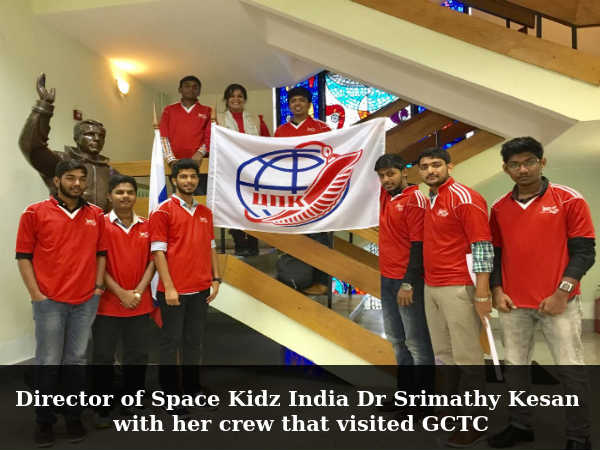 Aerospace students from India visit Gagarin Cosmonaut Training Center
