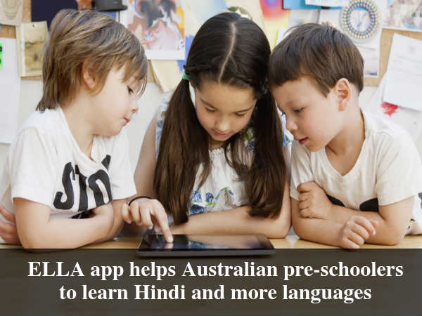 ELLA App to Teach Hindi for Pre-Schoolers