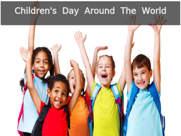 Dates and Origins of Children's Day in the World