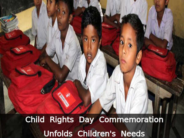 Child Rights Day Commemorated