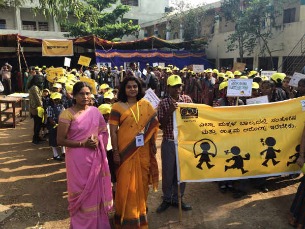 CRY celebrates Childrens Day in Bangalore