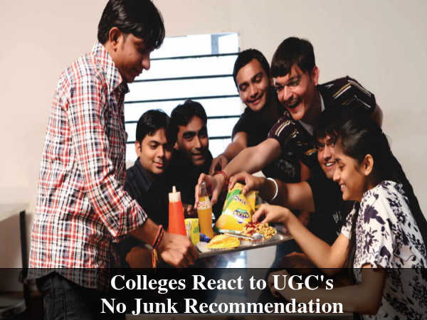 Colleges React to UGC's No Junk Recommendation