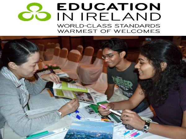 'Education in Ireland' student fair