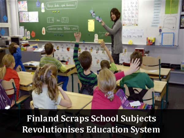 Finland Scraps School Subjects