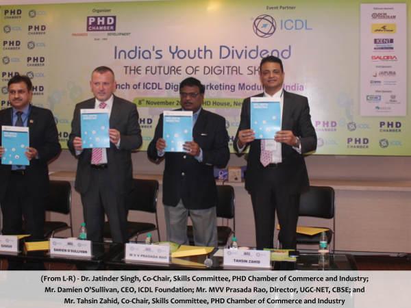 ICDL & PHD Chamber's Digital Mktg Certification