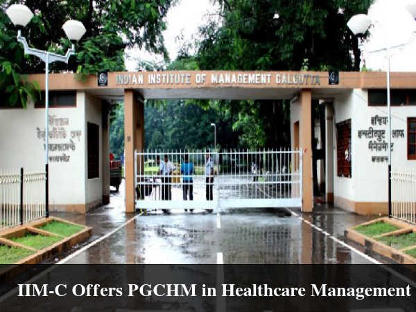 IIM-C Offers PGCHM in Healthcare Management