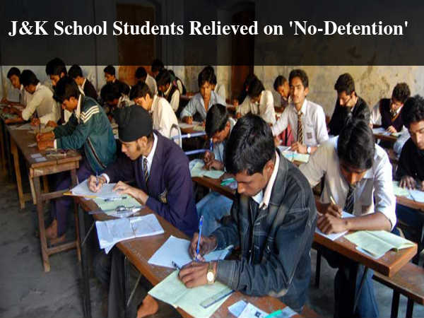J&K School Students Relieved on 'No-Detention'