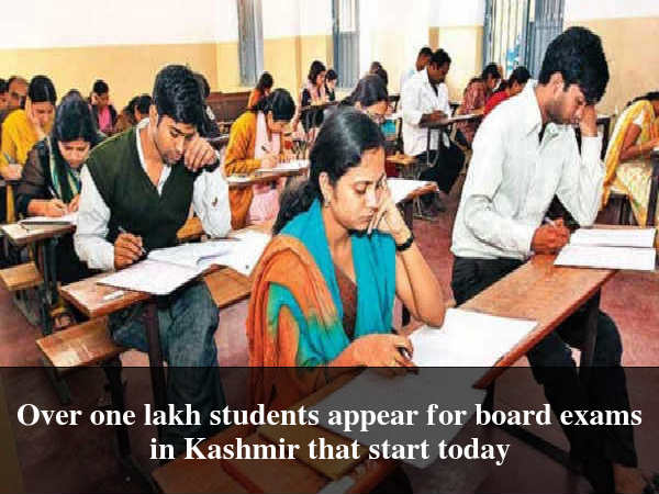 Board Exams Begin in Kashmir Today