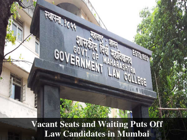 Vacant Seats and Waiting Puts Off Law Candidates