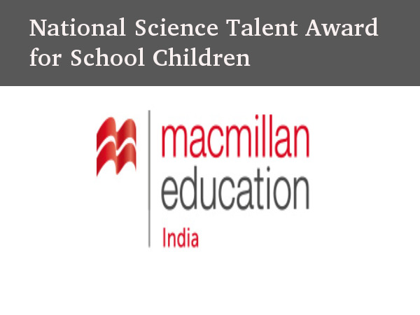 Macmillan Education National Science Talent Award