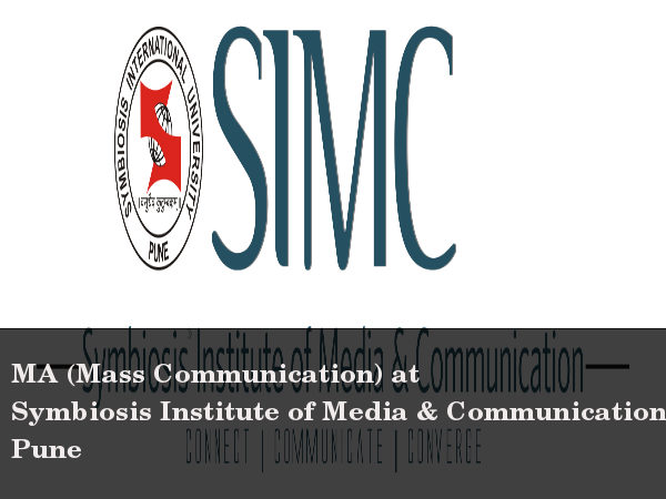Apply for MA (Mass Communication) at SIMC Pune
