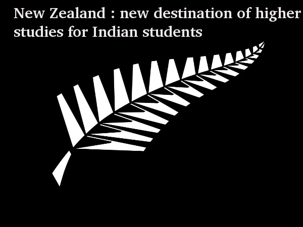 Indian students go to New Zealand for studies