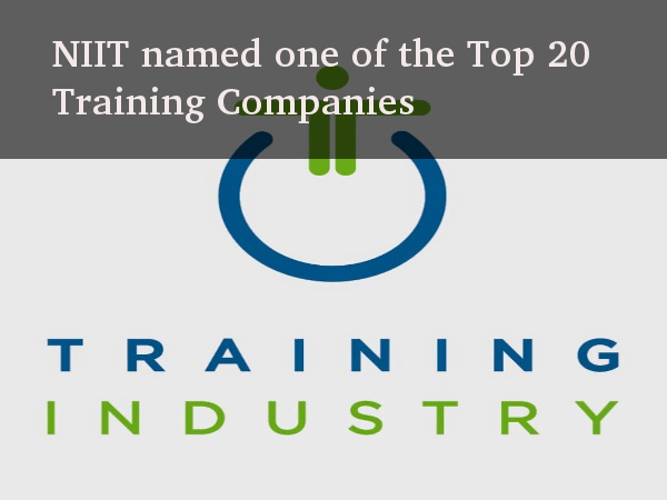 NIIT in TrainingIndustry.com's Top 20 List