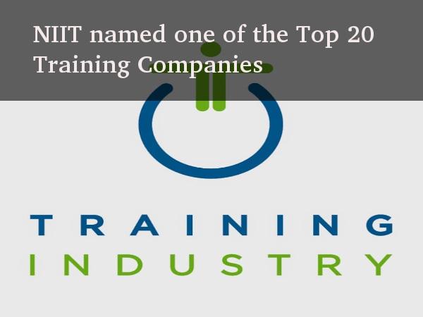 NIIT in TrainingIndustry.com's Top 20 List