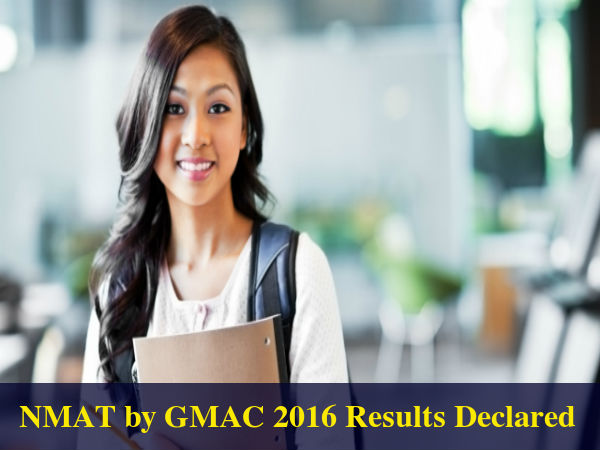 NMAT by GMAC 2016 Results Declared