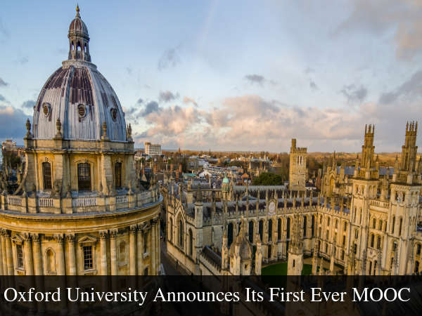 Oxford University Announces Its First MOOC