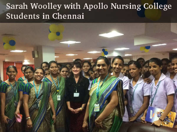 Ms Sarah Woolley talks to Careerindia