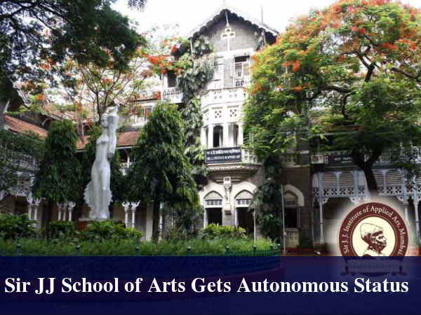 Sir JJ School of Arts Gets Autonomous Status