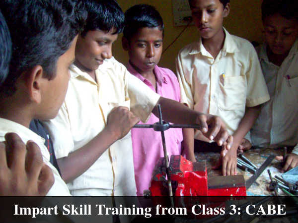 Impart Skill Training from Class 3: CABE