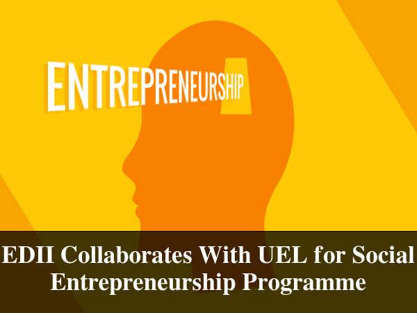Social Entrepreneurship Programme by EDII