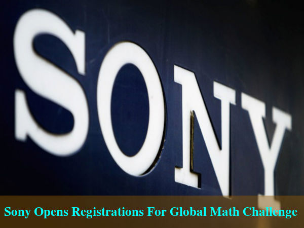 Sony Opens Free For Global Math Challenge