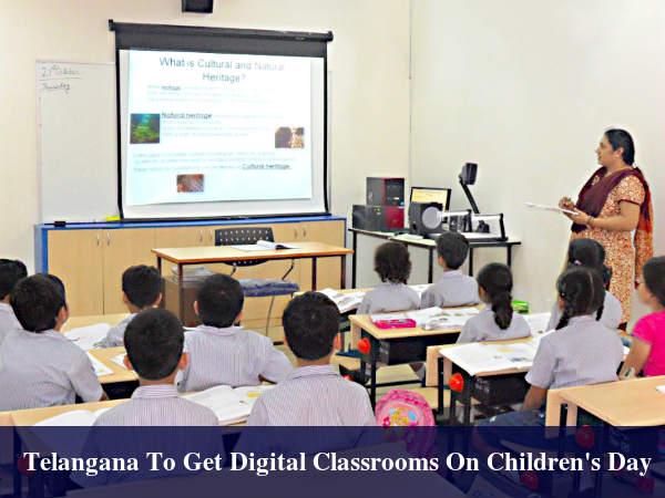 Telangana Launched Its Digital Classroom Programme