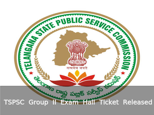 Candidates can download hall ticket from TSPSC web