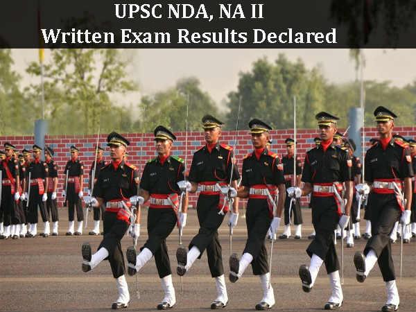 UPSC NDA, NA II Written Exam 2016 Results Declared