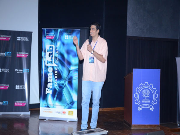 FameLab India's regional final at IIT Bombay Powai