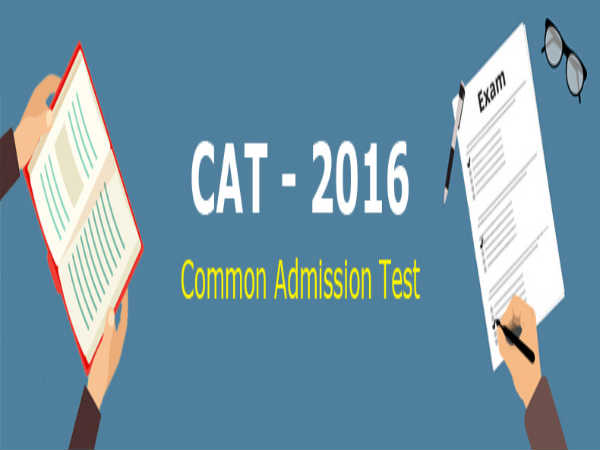 Instructions to be Followed in CAT Exam 2016