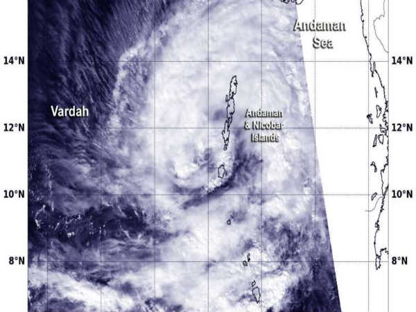Cyclone 'Vardah' Halts Regular Life in Tamilnadu