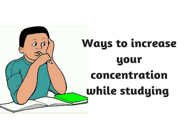 How to Stay Concentrated While Studying?