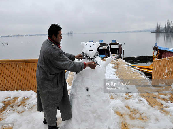 J and K Education Department Hosts Snow Contest
