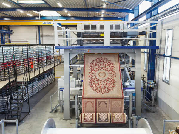 Into the technology of carpet making.