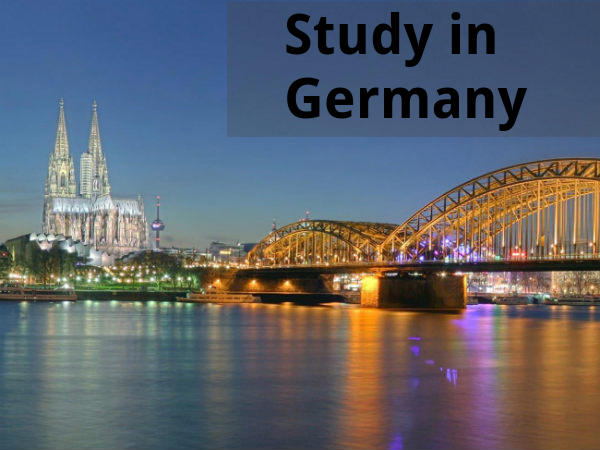 Study in Germany through German Study and Research