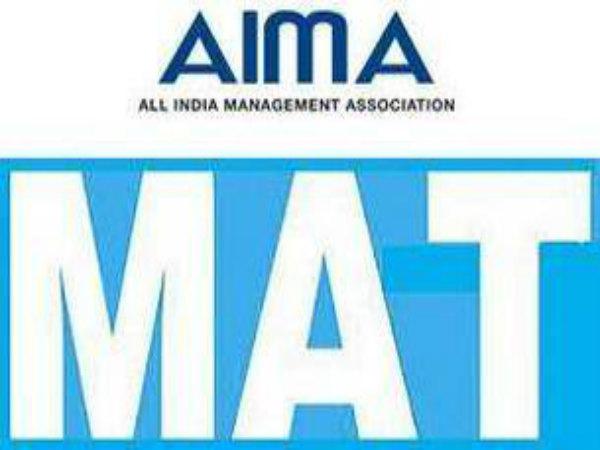 AIMA MAT exam dates 2017