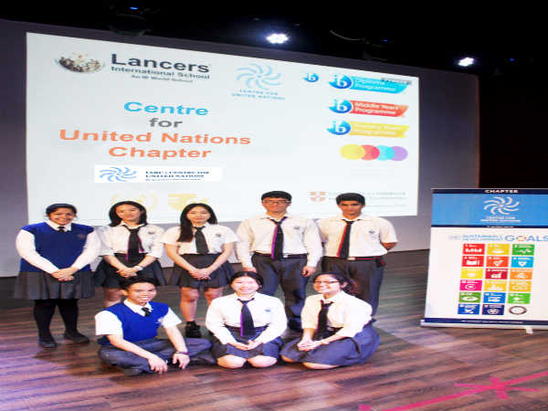 Lancers International School Gets Included in IARC Centre for UN