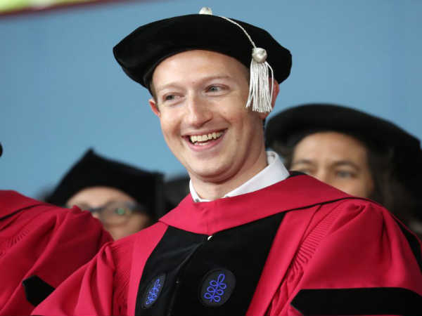 Mark Zuckerberg Graduates After 13 Years