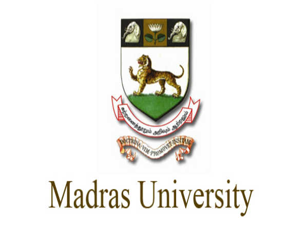 Madras University Result Released